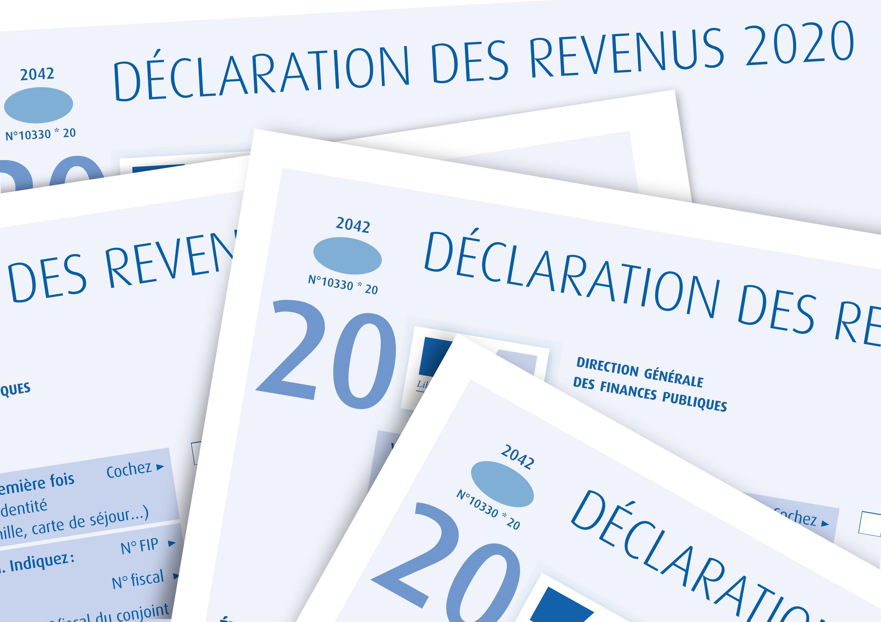 Déclaration IRPP sur les revenus 2020